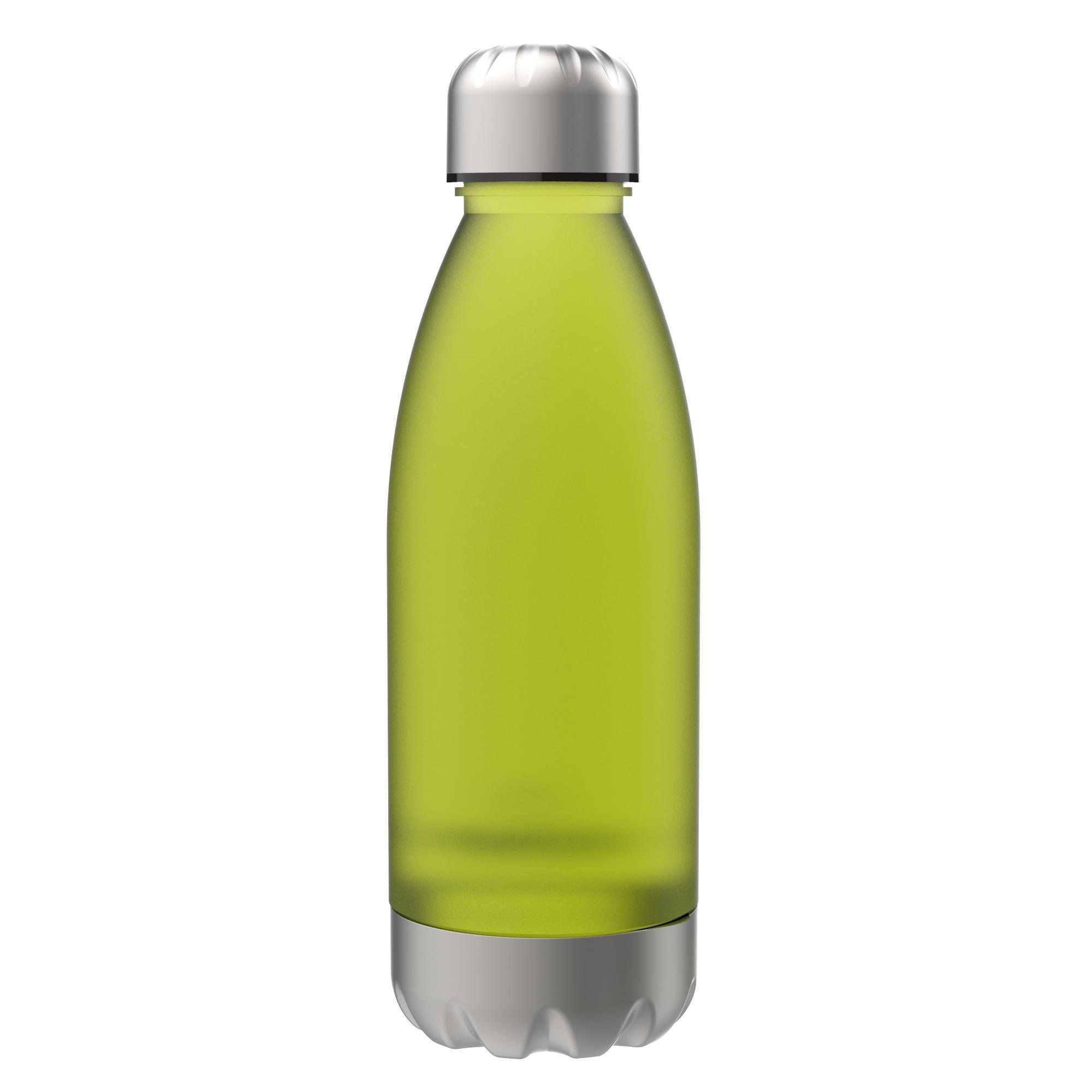 560ml 6 COLOURS! BPA Free Ion8 Leak Proof Clear // Steel Water Bottle