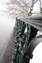 Alsovo nabrezi - Prague riverside in winter