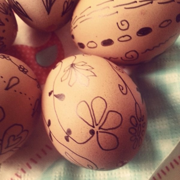 Decorated Easter Eggs Kraslice