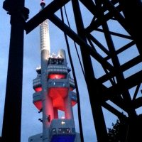 Zizkov Tower Night Variations