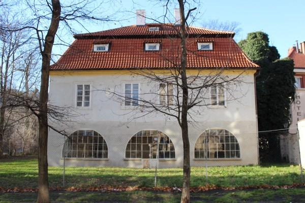 Kampa, House of Jan Werich, Czech actor