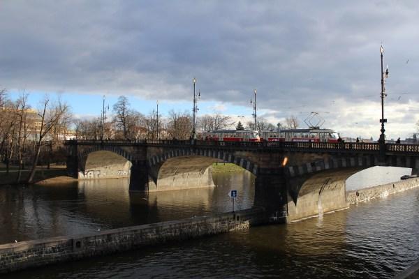 Legii bridge, Prague
