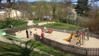 Sacre Coeur_park_playground_Prague