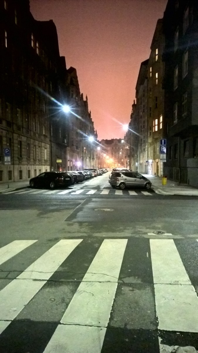 Prague fall