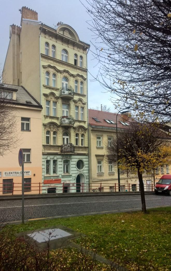 Prague Katerinska street