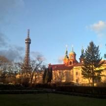 Petrin-tower-Prague-wintersun