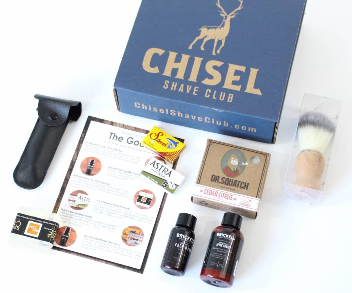 Chisel Shave Club January 2016 3