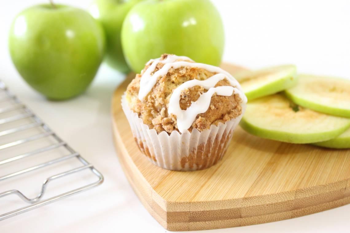 Spiced Apple Muffins - RawSpceBar 8