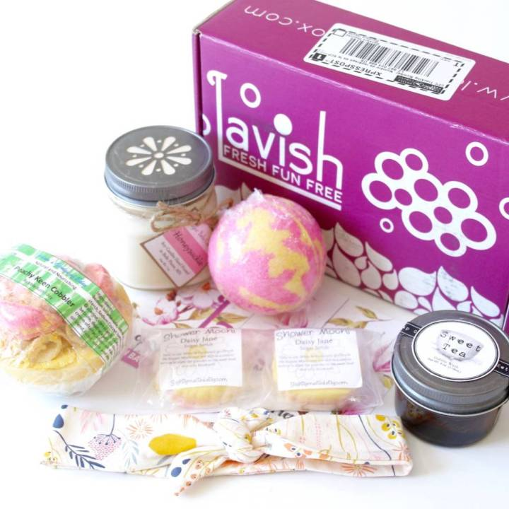 Lavish Bath Box Review June 2016 5