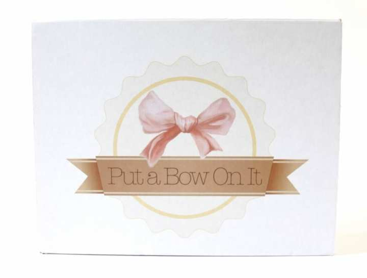 Put A Bow on It Review July 2016 1