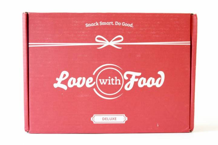 Love With Food Deluxe Box Review July 2016 1