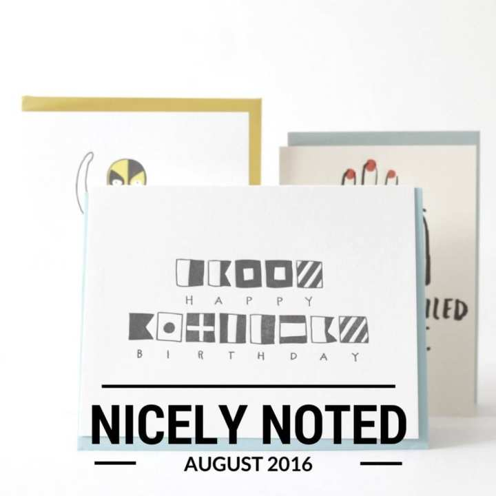 Nicely Noted Review August 2016 8