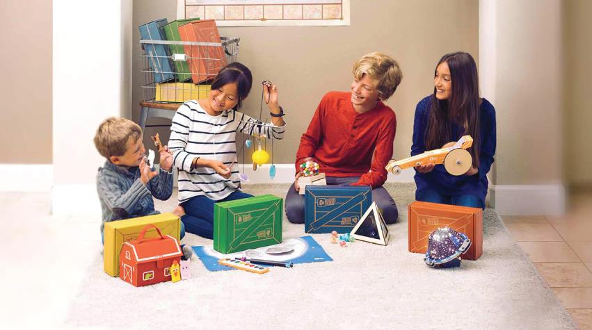 KiwiCo builds children's creative confidence and problem-solving skills with award-winning STEAM projects and activities.