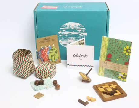 GlobeIn Artisan Box is a monthly subscription box featuring favorite products from global artisans.
