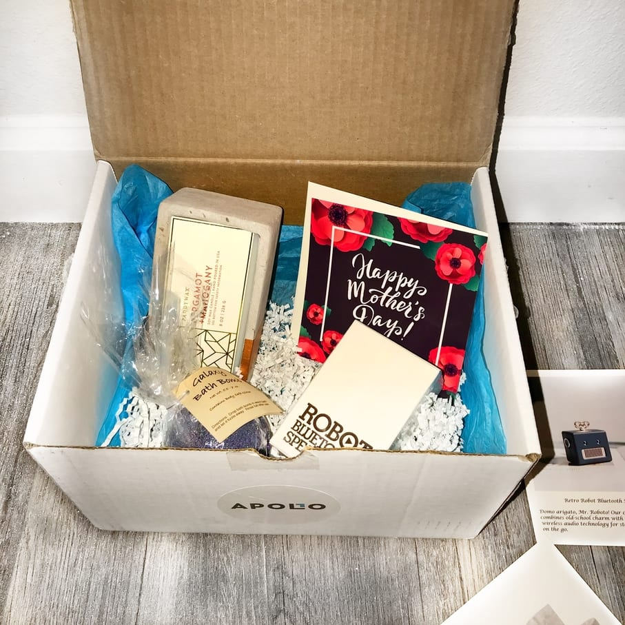 a year of boxes apollo surprise box mother s day box 2018 a