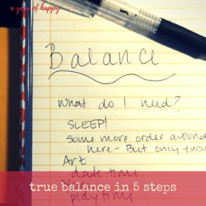 True Balance for Working Moms in 5 Simple Steps