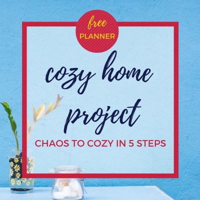 free cozy home project planner