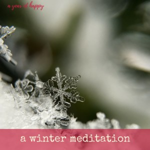 A Winter Meditation for Clarity