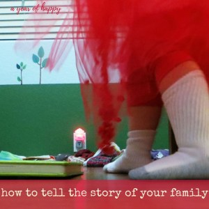 How to Tell the Story of Your Family in Pictures