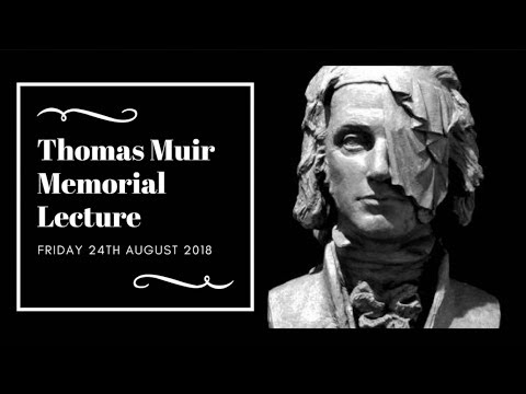 The Thomas Muir Lecture 2018 with Gerda Stevenson