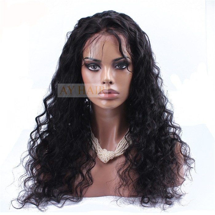 Full Lace wig loose curl02