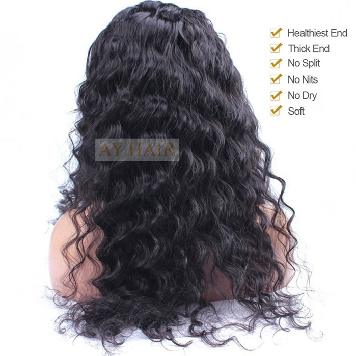 Full Lace wig loose curl04