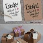 Geschenkanhanger Personalisiert Zur Hochzeit Kommunion