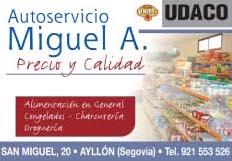 Autoservicio Miguel Angel en Ayllon
