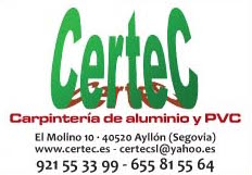 Certec carpinteria Aluminio en Ayllon