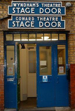 Wyndhams_Theatre_London_stage_door