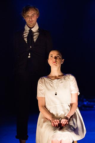 Tom Canton(Pip) and Laura Rees(Estella) 2