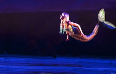 Katie Moore as Little Mermaid (photo Simon Annand)