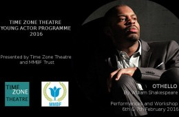 Launch of the Time Zone Theatre Young Actor Programme