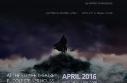 The Tempest poster at Rudolf Steiner House