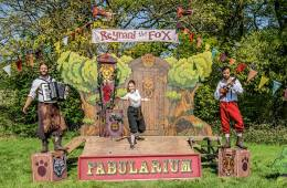 National Rural Touring Forum, Spot On Lancashire, Cheshire Rural Touring Arts, The Chef Show, Blind Date, Churchfitters, Reynard the Fox, The Fabularium, rural theatre, regional theatre