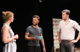 The English Heart, Etcetera Theatre, Brexit, Anya Williams, Jake Williams, Andrew Jardine