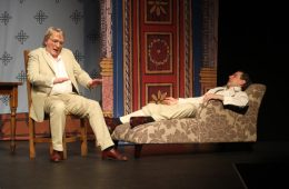 Chinese Whispers, Pete Shaw, Ian Lindsay, Greenwich Theatre, Drama, Theatre, Sir Edmund Backhouse, China, Oxford,