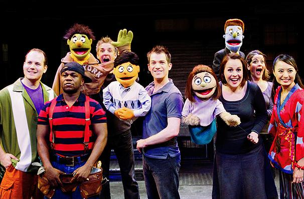 Avenue Q Christmas Eve.Review Avenue Q New Wimbledon Theatre A Younger Theatre