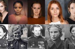 Cast members and their wartime pilots