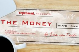 The image shows a cheque written to 'The Money'.