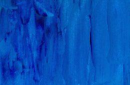 A blue, swishy painting
