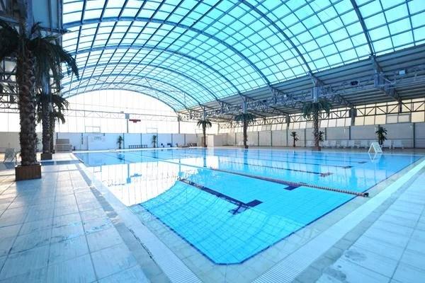 kızılcahamam bayanlara özel yüzme havuzu