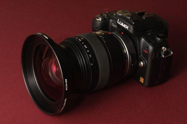 GH-1 + Leica-D + WCON 08B
