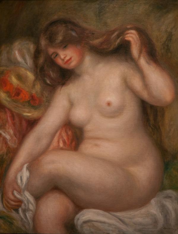 Renoir bather