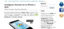 Novedades en Hotmail 2010