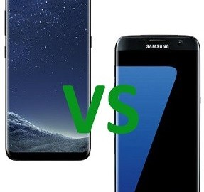Samsung Galaxy S8 Edge vs S7 Edge