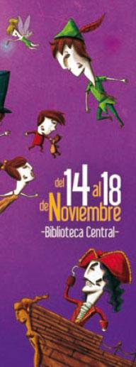 Sección del programa de mano de l 9º salón del libro infantil y juvenil