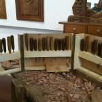 Útiles para la talla en madera