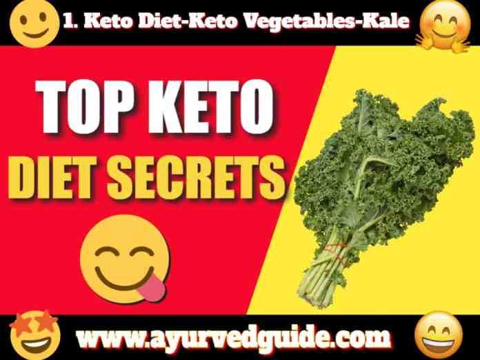 Keto Diet-Keto Vegetables-Kale