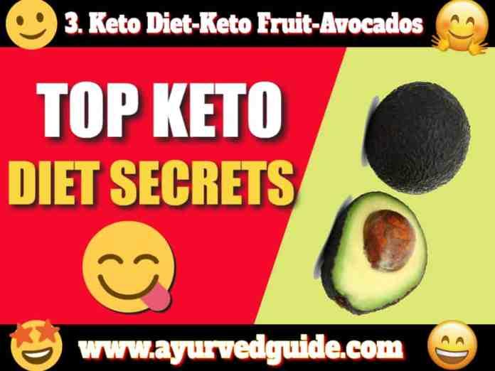 Keto Diet-Keto Fruit-Avocados